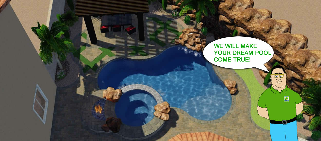 Your Pool Design in 3D